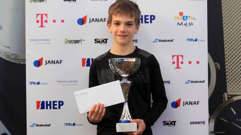Noa Pasarić: Rano sam zavolio tenis pa sam počeo trenirati sve više i bolje
