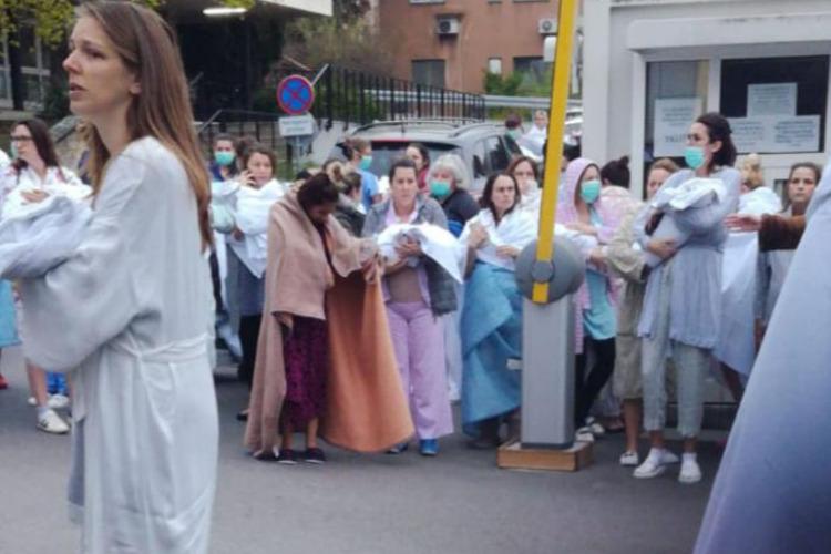 Akcija za pomoć zagrebačkim bolnicama