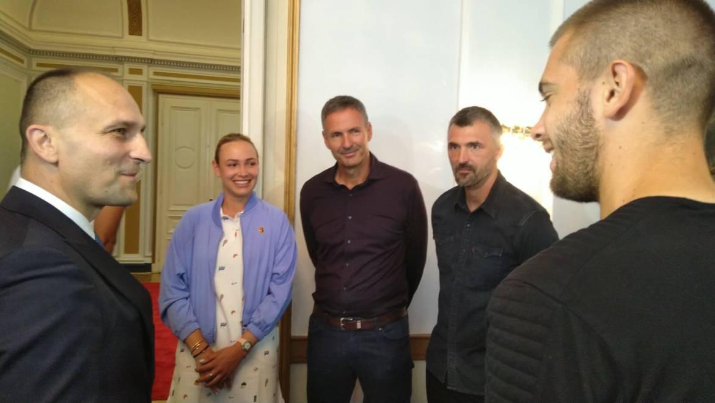 Osječko-baranjski župan primio sudionike turnira Hrvatski Premier Tenis