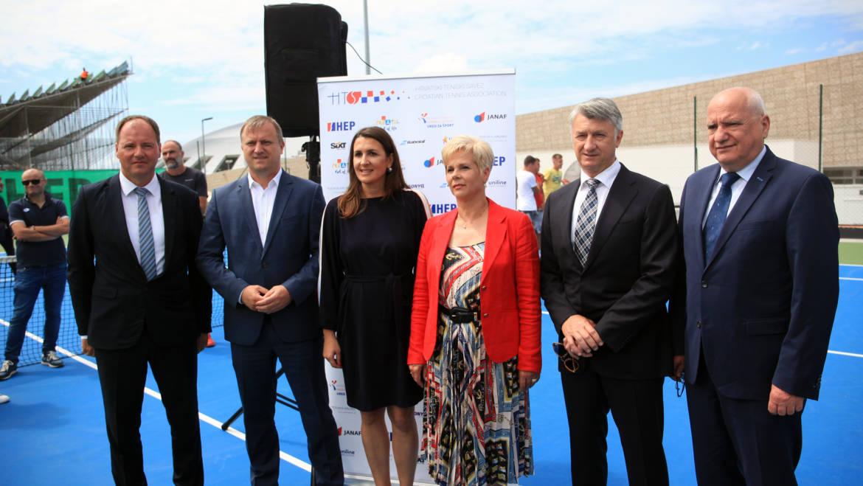 Svečano otvoren Regionalni teniski centar u Zadru