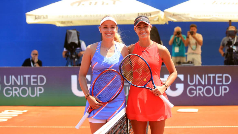 Vekić i Danilović donijele uvod u tenisku subotu, Donna odjurila u trećem setu