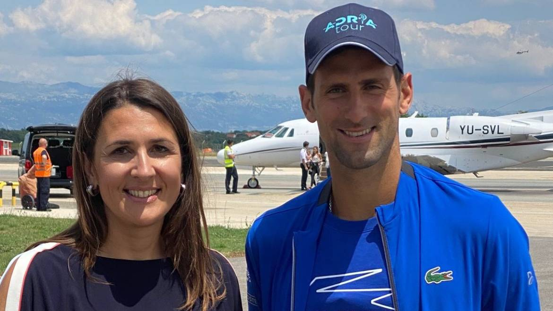 Novak Đoković sletio u Zadar: Hrvatska je od danas teniski centar svijeta