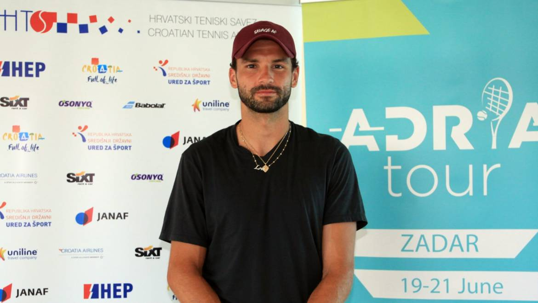 U Zadar stigao i Bugarin Grigor Dimitrov