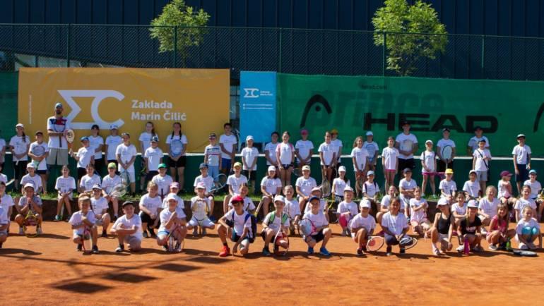 Peti besplatni teniski kamp za djecu u Vukovaru i ove godine pod pokroviteljstvom Zaklade Marina Čilića