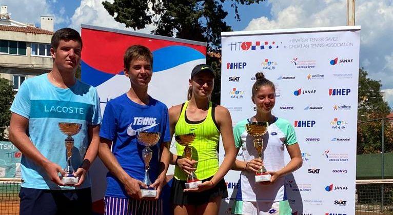 Antonia Ružić i Dino Prižmić pobjednici su juniorskog HEP prvenstva Hrvatske