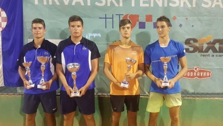 Poljičak i Prižmić te Ružić i Ćirić-Bagarić za naslov na juniorskom HEP prvenstvu Hrvatske