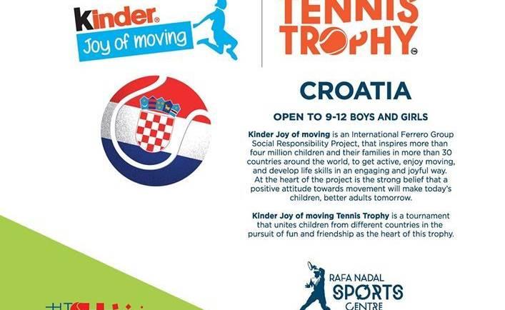 U subotu na Šalati 2. izdanje Kinder Joy Tennis Trophyja