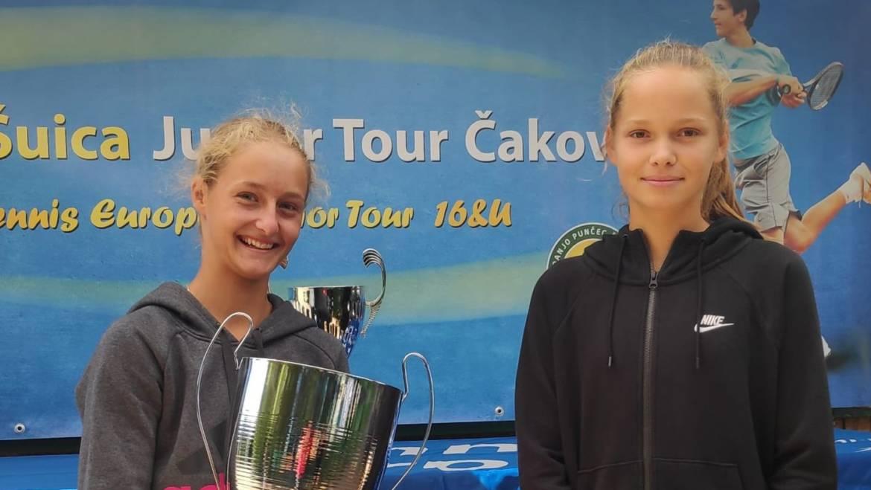 Ria Derniković Novaković pobjednica Marin Šuica Junior Opena