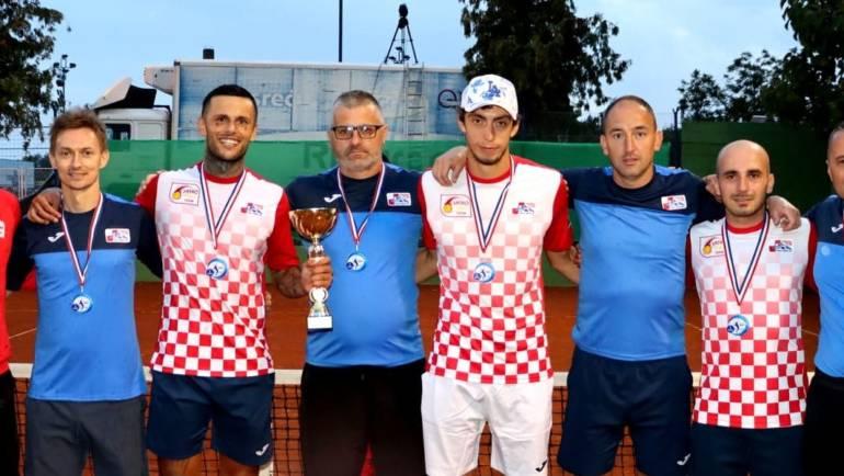 Momčad Donjeg Miholjca  pobjednik 5. izdanja HEP Hrvatskog teniskog kupa
