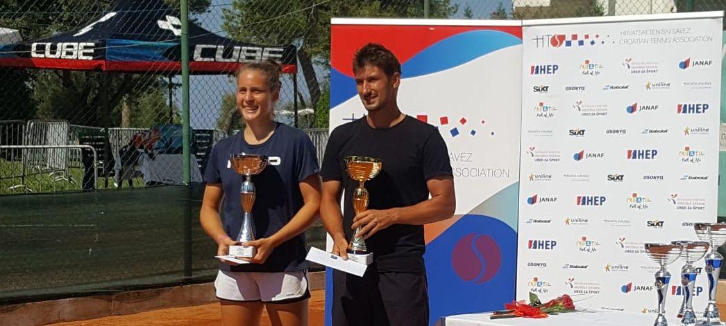 Duje Kekez i Tara Würth  pobjednici HEP seniorskog pojedinačnog prvenstva Hrvatske
