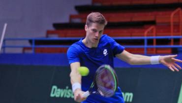 Nino Serdarušić ispao u 1. kola ATP turnira u St. Peterburgu, pružio odličan otpor Kordi