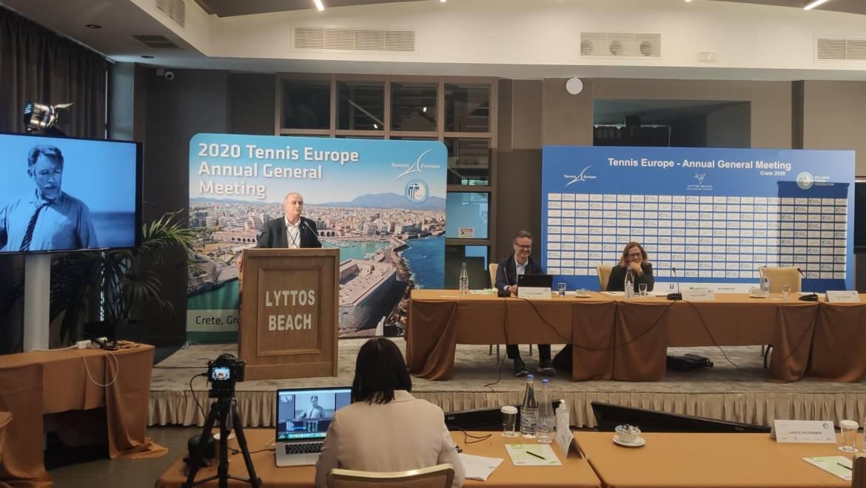 U Grčkoj započela godišnja opća skupština Tennis Europe