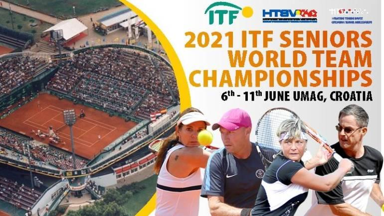 Umag u 2021. domaćin dva ITF Svjetska prvenstva veterana
