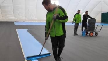Pred dovršenjem prva faza izgradnje novog teniskog centra u Čakovcu