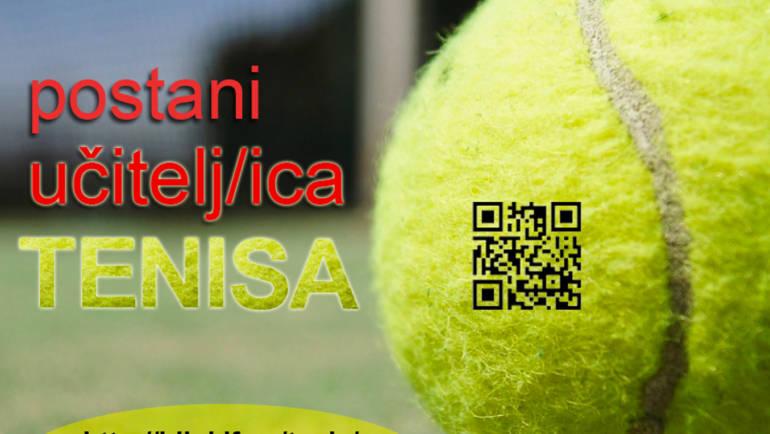 Postani učitelj/ica tenisa