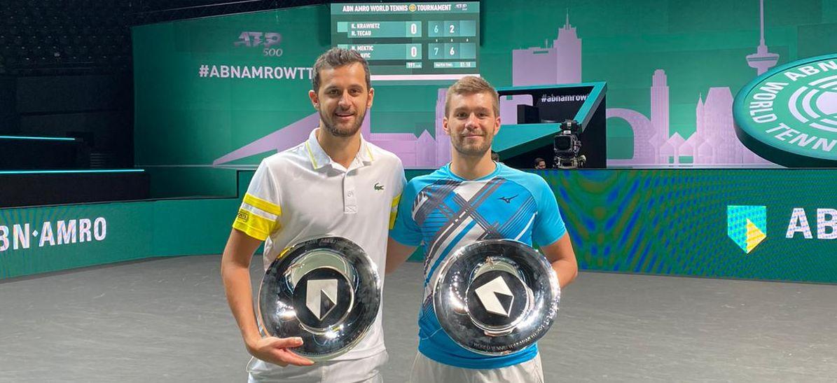 Nikola Mektić i Mate Pavić pobjednici ATP turnira u Rotterdamu!