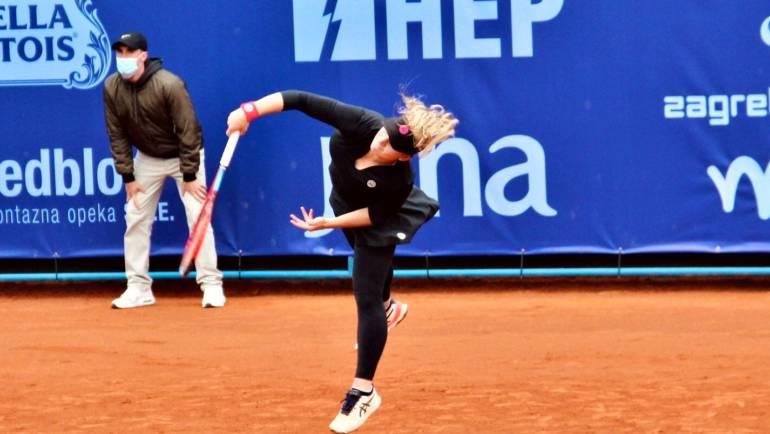 Bez domaćih igračica u polufinalu Zagreb Ladies Opena, Rahimova nakon Mrdeže svladala i Fett