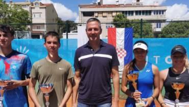 Dino Prižmić i Petra Marčinko prvaci Hrvatske do 18 godina