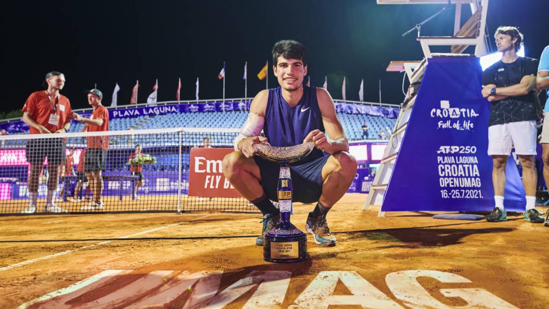 Španjolac Carlos Alcaraz u Umagu stigao do svog premijernog ATP naslova