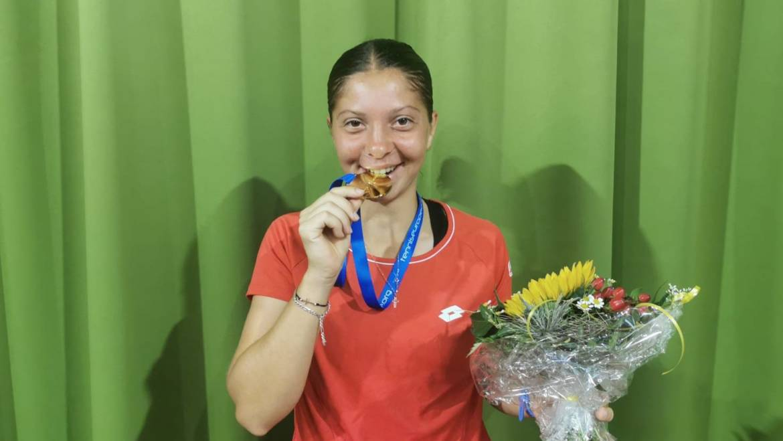 Fantastična Antonia Ružić do zlata na Europskom prvenstvu do 18 godina u Klostersu!