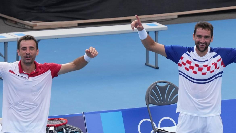 Fantastični Marin Čilić i Ivan Dodig u finalu olimpijskog turnira u Tokiju!
