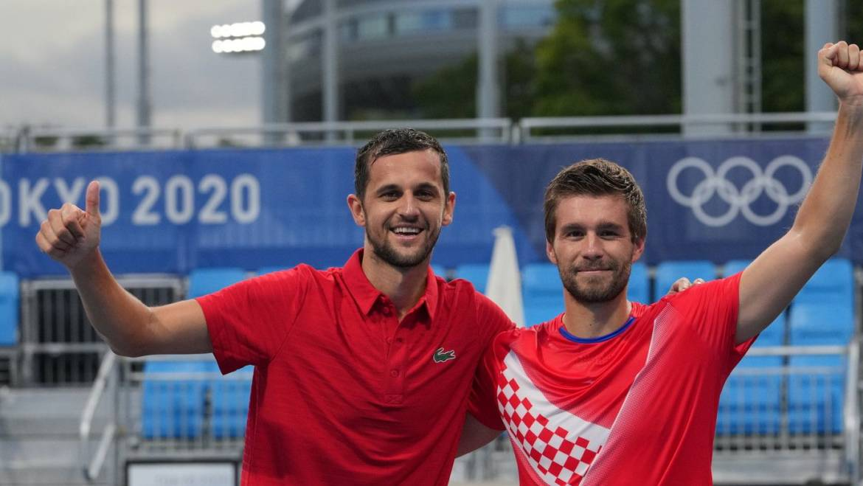 Nikola Mektić i Mate Pavić osigurali hrvatski finale na Olimpijskim igrama u Tokiju!