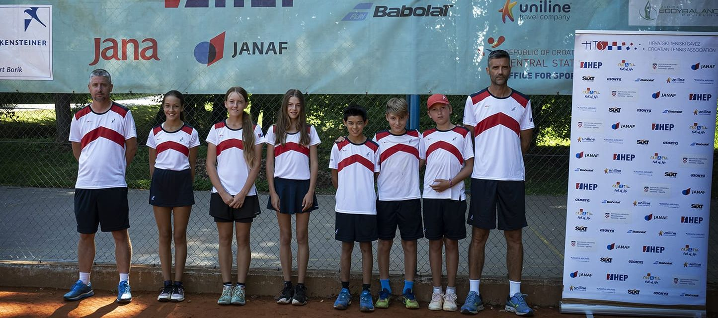 Obje naše reprezentacije do 12 godina osvojile treće mjesto u kvalifikacijskim skupinama u Karlovcu