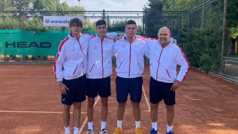 Muška reprezentacija do 18 godina izborila završni turnir Summer Cupa, tenisačice izgubile od Čehinja