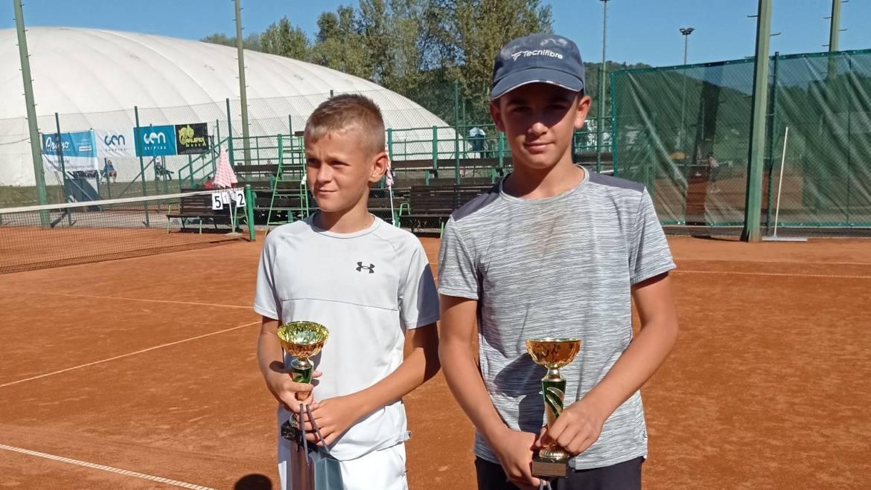 Luka Ereš i Noa Palčić do polufinala TE Krško Opena