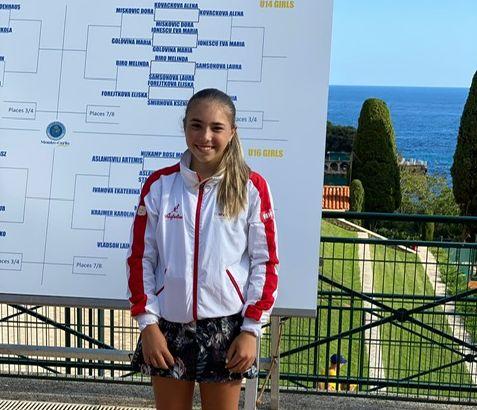 Dora Mišković za 5. mjesto na TE Junior Mastersu